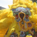 Mardi Gras Indian in New Orleans
