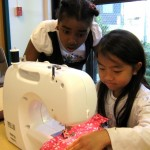 Kids sewing in Madison WI
