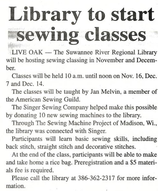 Suwannee River Library